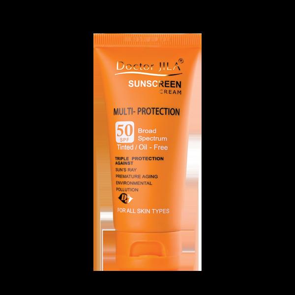کرم ضد آفتاب Spf50 (رنگی) مولتی پروتکشن